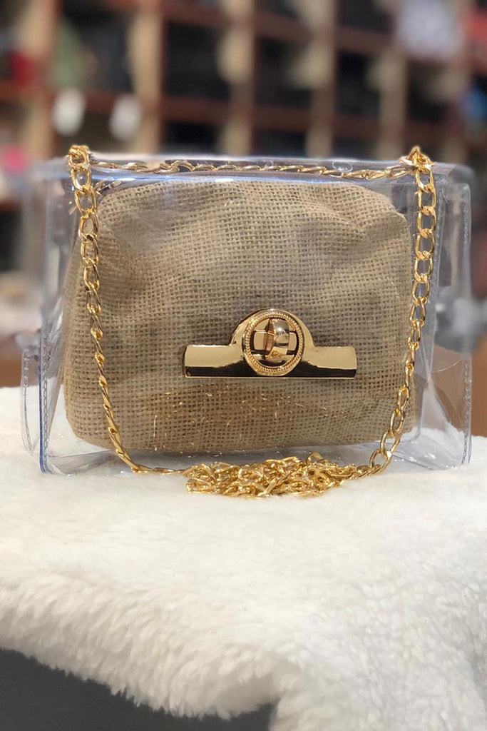 Women's Beige Straw Shoulder Bag