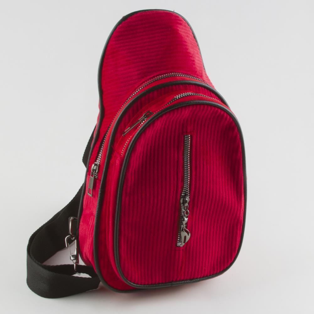 Women's Velvet Red Crossbody Bag