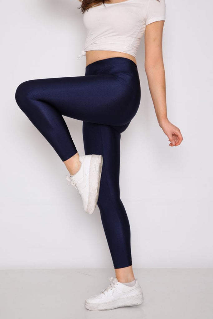 Women's Thermal Navy Blue Tights