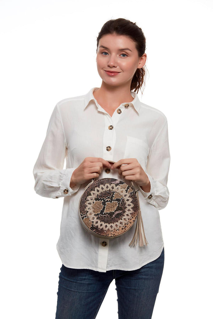 Women's Round Shoulder Bag