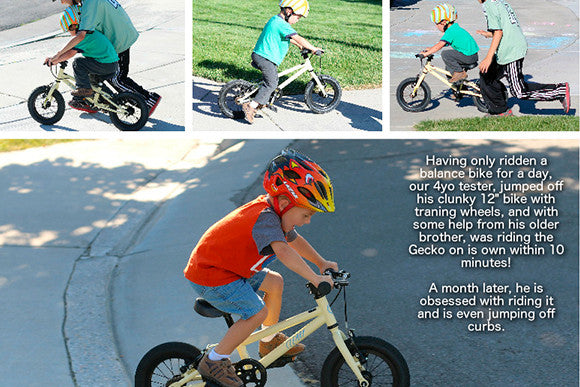 Two Wheeling Tots Reviews The Cleary Gecko