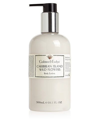 Crabtree&Evelyn Caribbean Island Wildflower Body Lotion 300ml