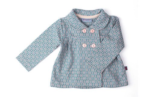 Baby Tower Jacquardjacke