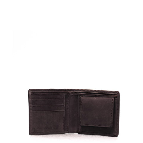 OMYBAG Tobi's Wallet Eco Dark Brown Portemonnaie