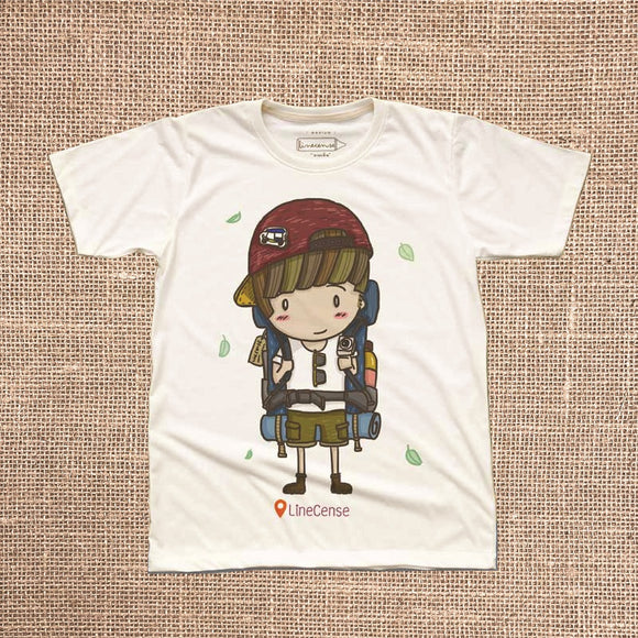 Backpacker Boy T-Shirt