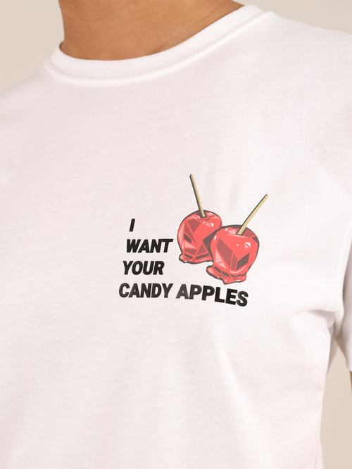 Candy Apples Organic Tee