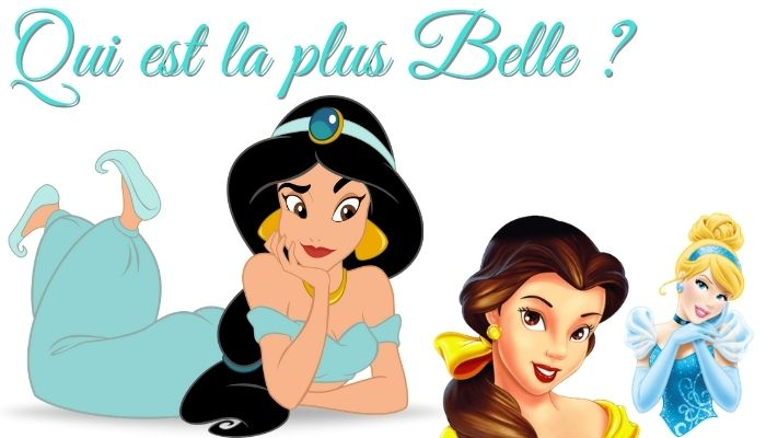 la plus belle princesse disney