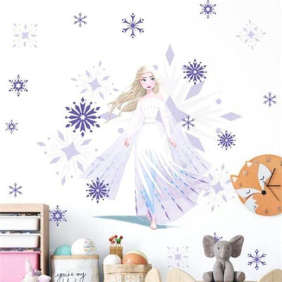 Grand Stickers Reine des Neiges