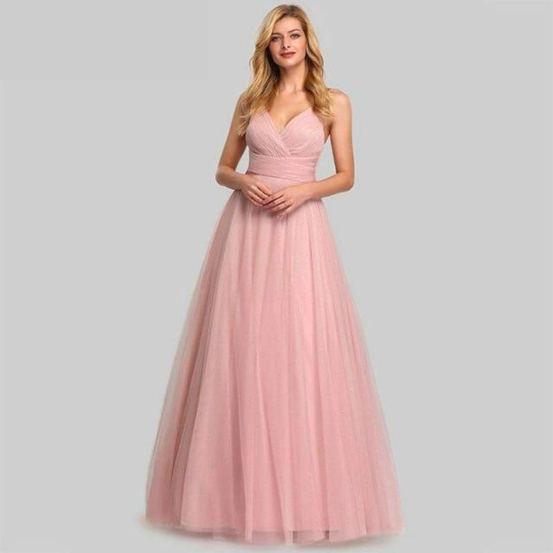 Robe de Bal Princesse Rose