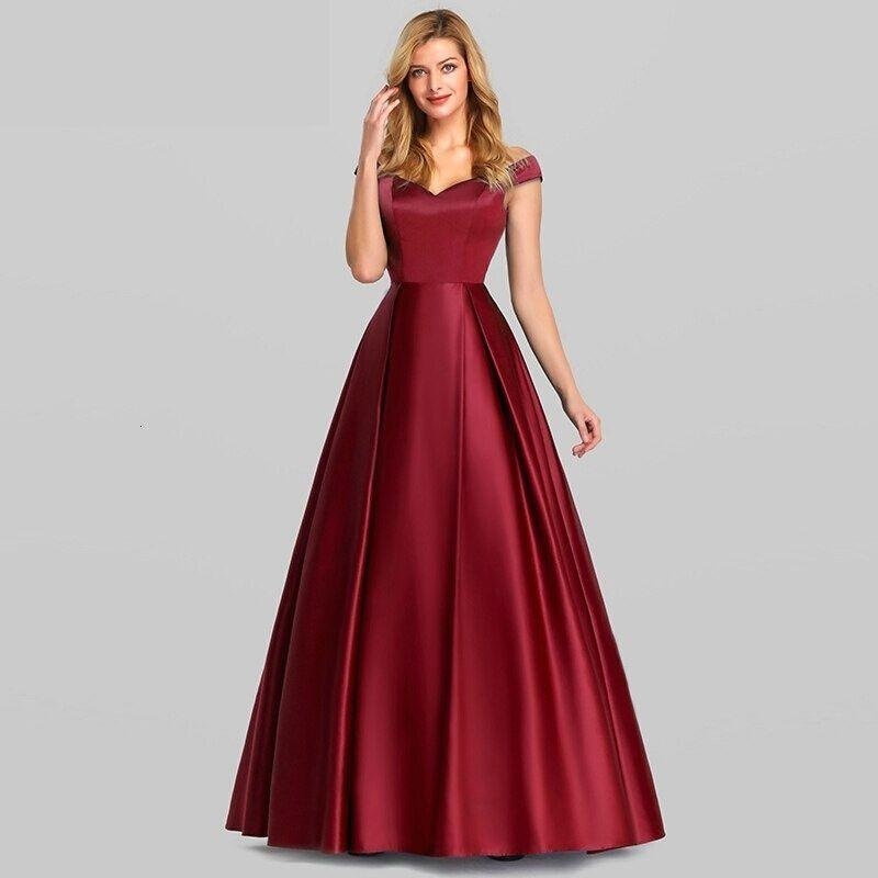 Robe-de-Bal-Princesse-Rouge