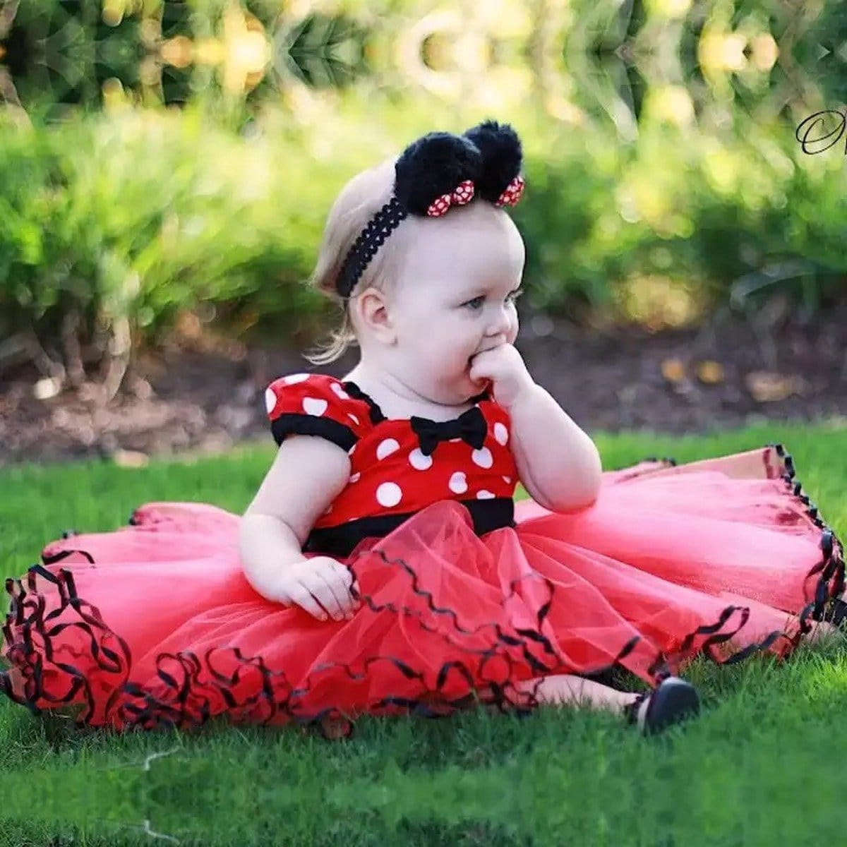 Robe Princesse Minnie Bébé