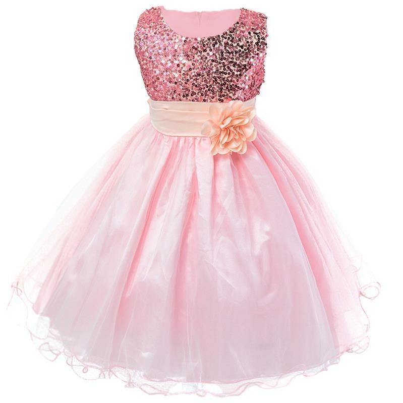 Robe Princesse Rose et Brillant