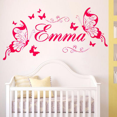 Sticker Papillon Chambre Fille
