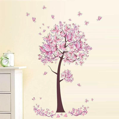 Stickers Princesse Fille Arbre