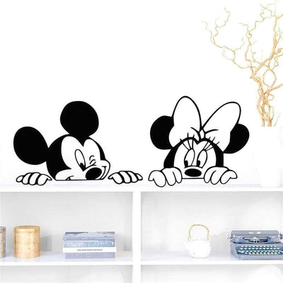 Stickers-Mickey-Noir-et-Blanc