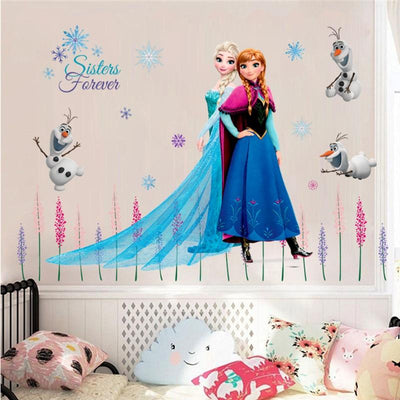 Stickers-Mural-Reine-des-Neiges
