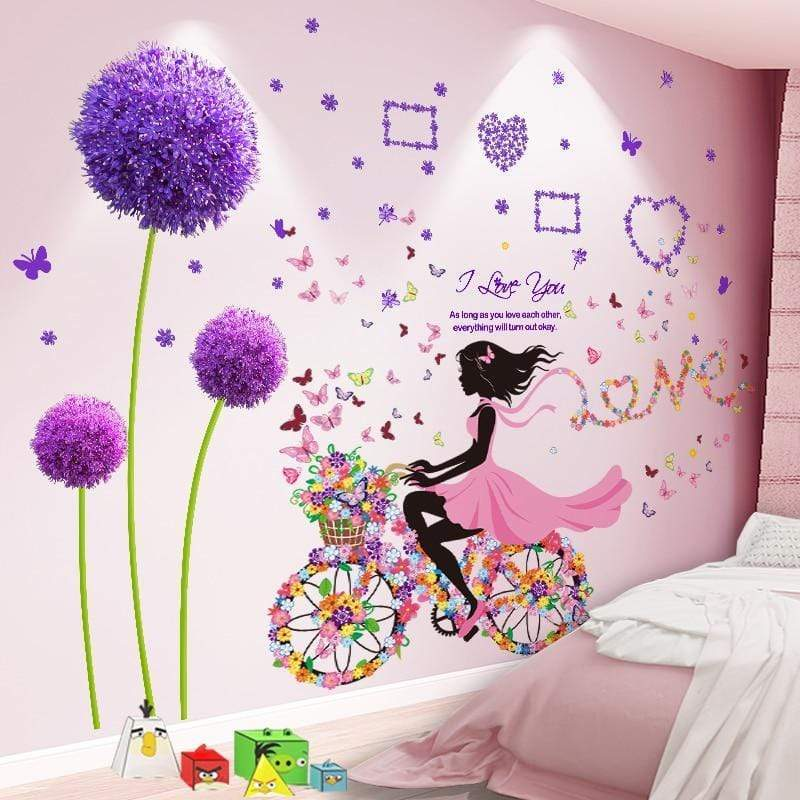 Stickers Princesse Chambre Fille