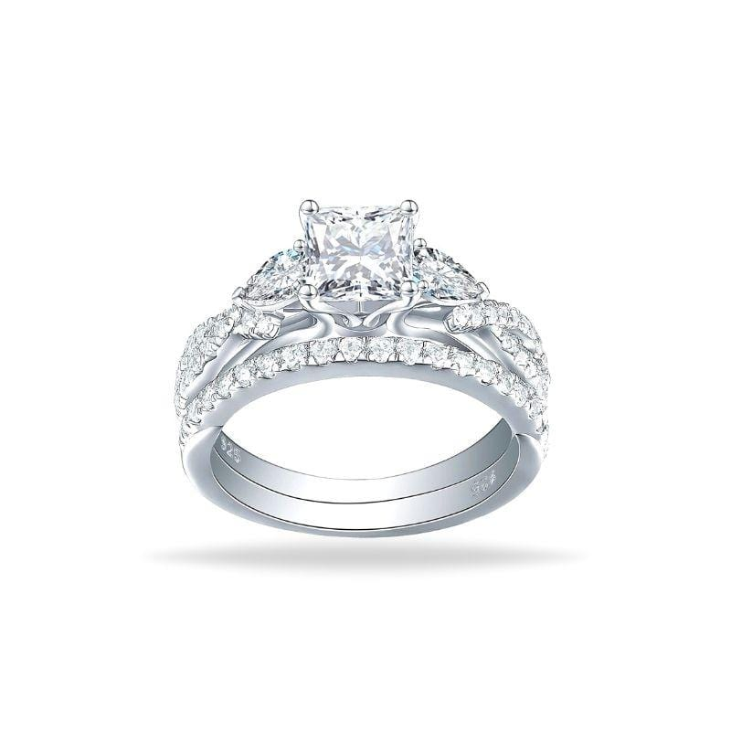 Bague Princesse Scintillante