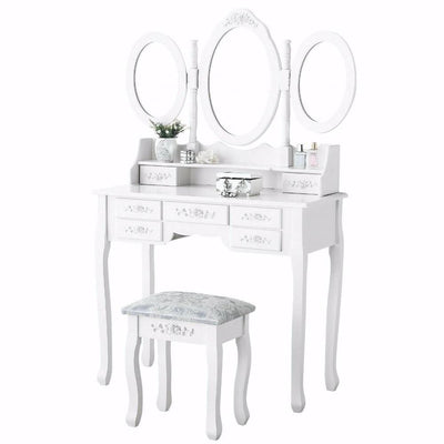 coiffeuse 3 miroirs pas cher