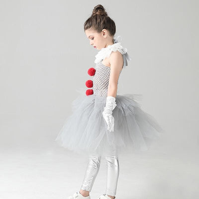 costume clown horreur fille