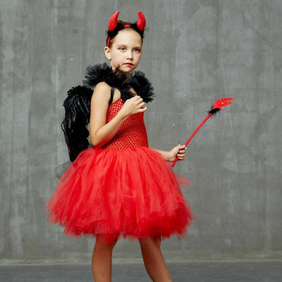 costume diable fille