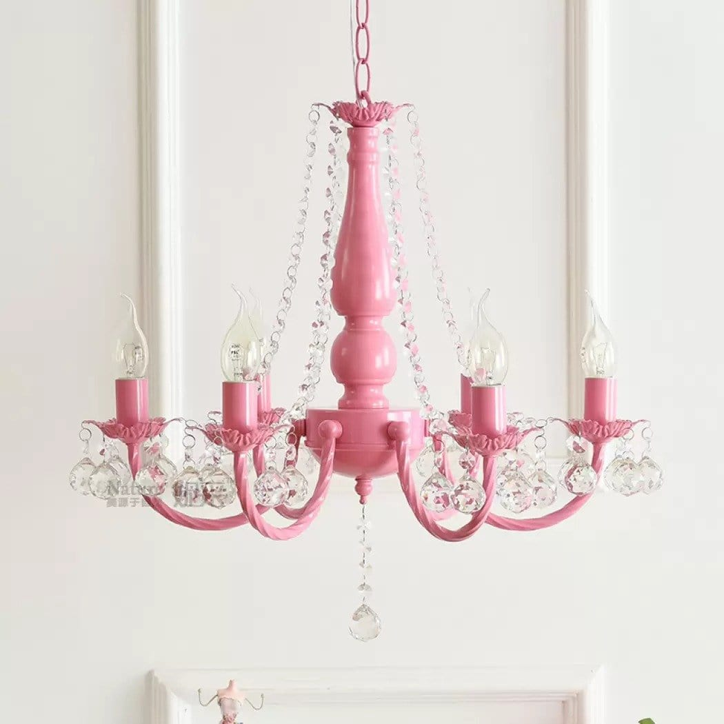Lustre Princesse Rose