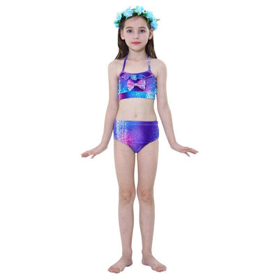 Maillot de Bain Princesse Queue Sirène