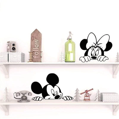 mickey-stickers-noir-et-blanc