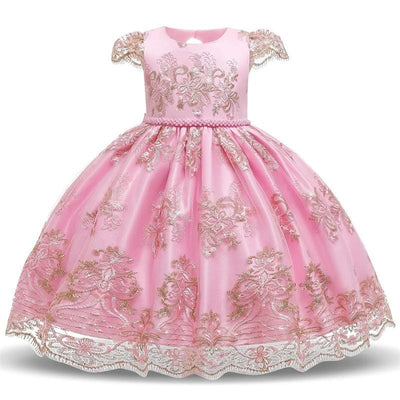 Robe Princesse Rose Poudré (Fille)