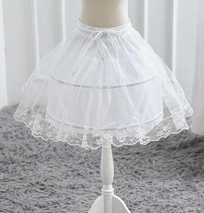 Robe Princesse Noeud Blanc