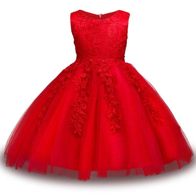 Robe Princesse Belle Rouge enfant