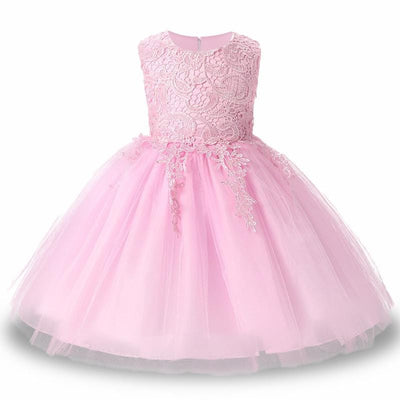 Robe Princesse Rose 3 Ans