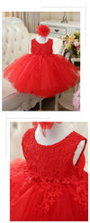 Robe Princesse Belle Rouge fille