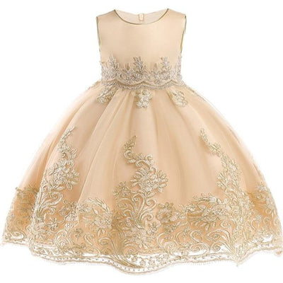 Robe Princesse Couleur Champagne