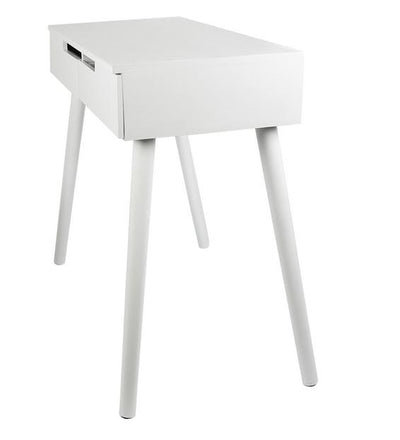 commode coiffeuse blanche