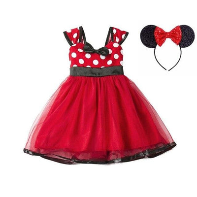 robe minnie rouge