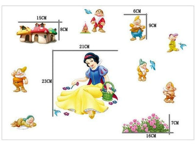 Stickers Blanche Neige
