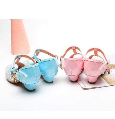 Chaussure Princesse Taille 30 rose bleu