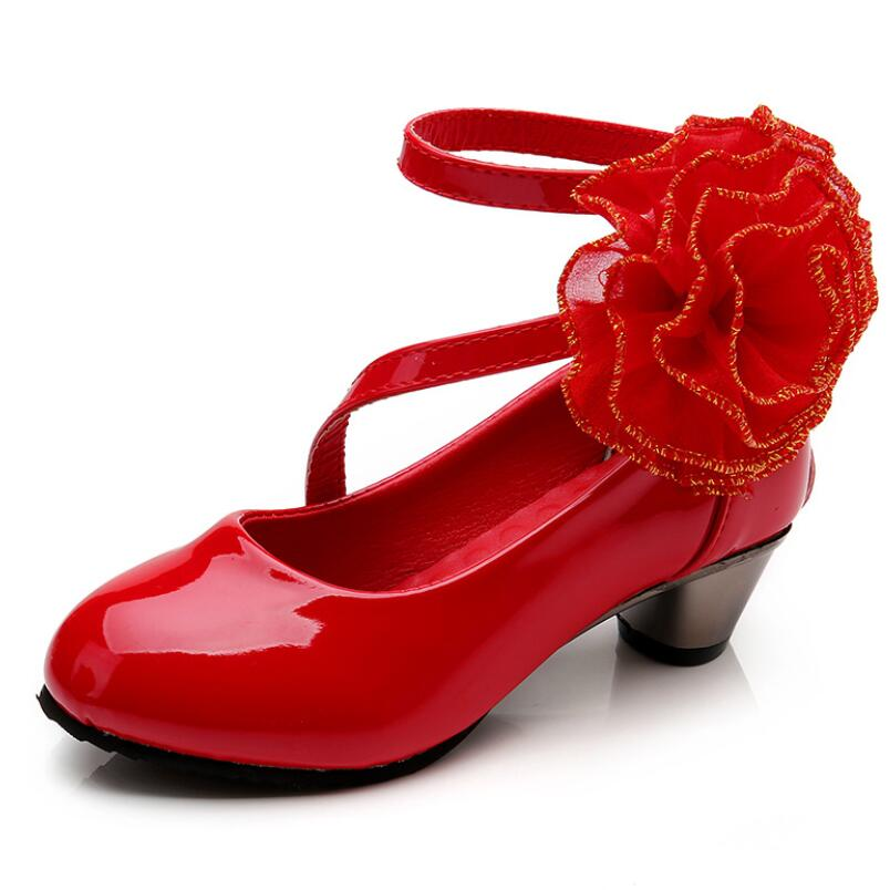 Chaussure Princesse Coquelicot