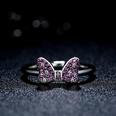 bague minnie disney
