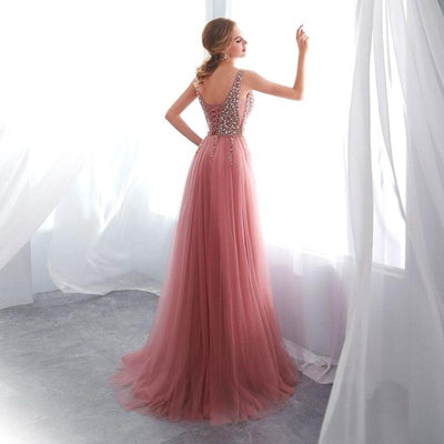 robe-de-bal-princesse-rose