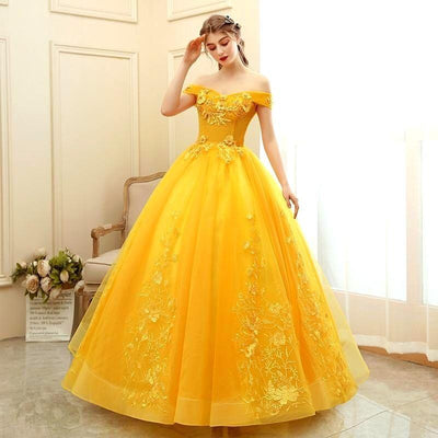 robe-jaune-princesse-adulte