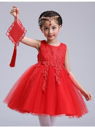 Robe Princesse Belle Rouge