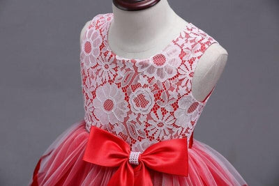 Robe Princesse Blanche et Rouge