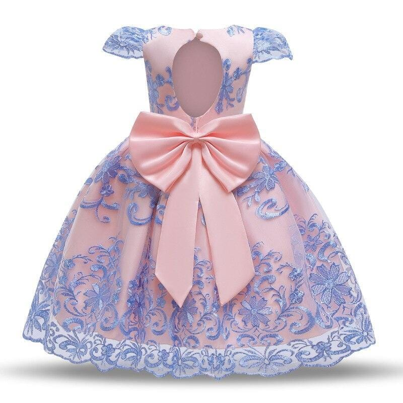 Robe Princesse Rose Bleu