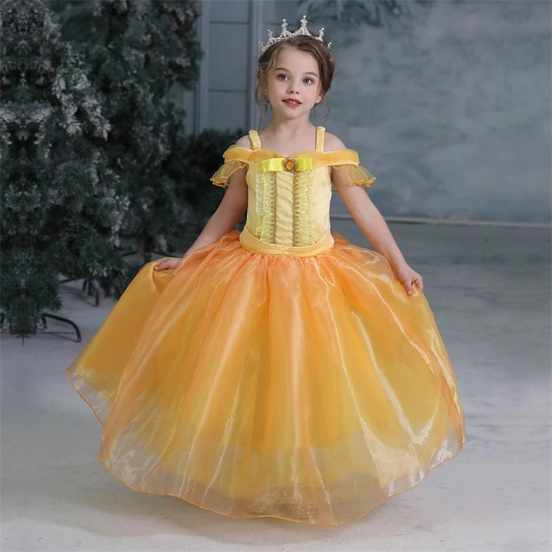 robe princesse belle fille