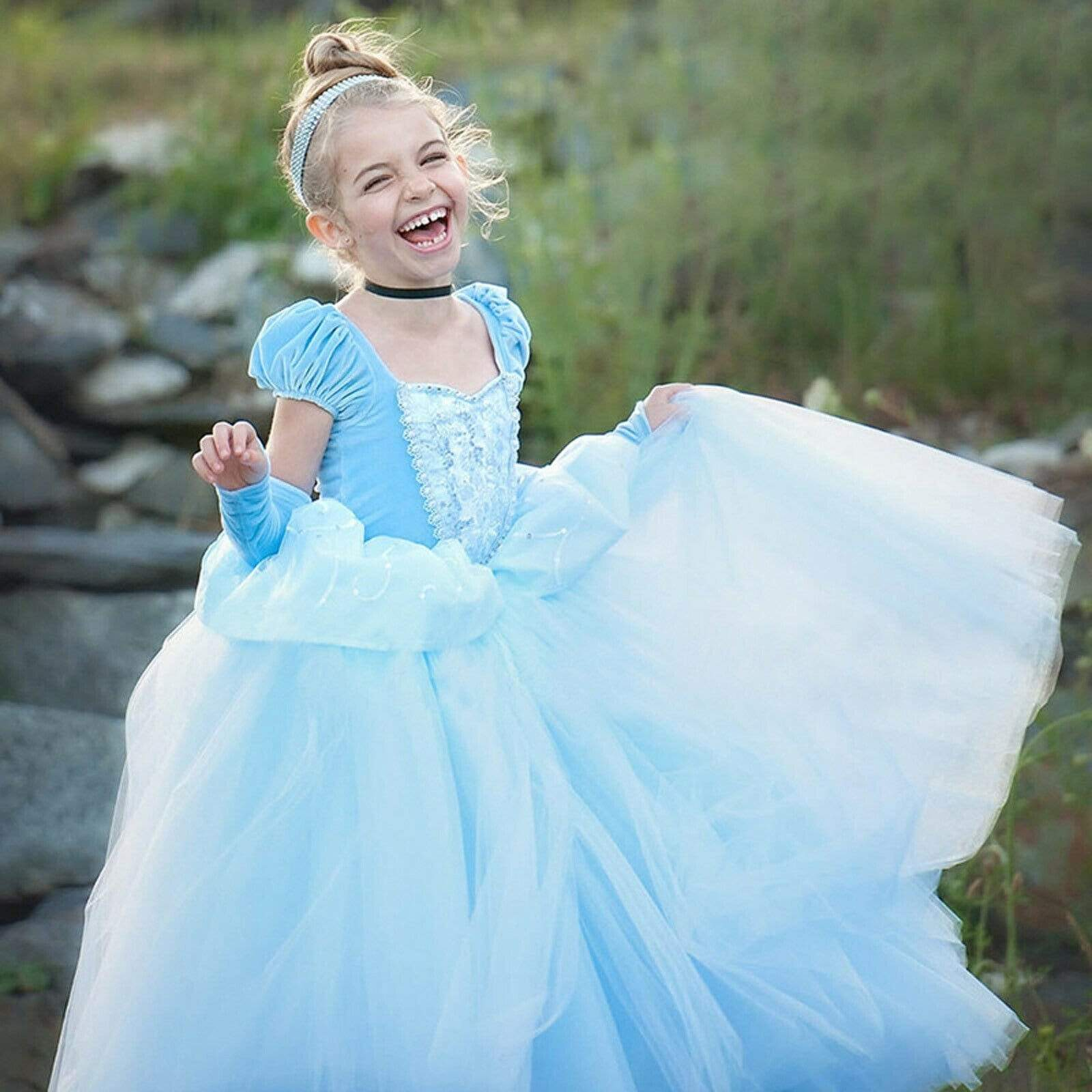 Robe Princesse Fille Cendrillon