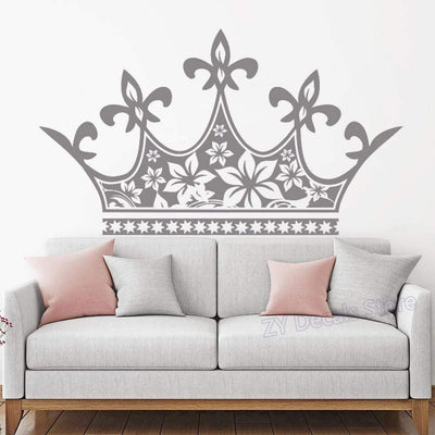stickers couronne princesse