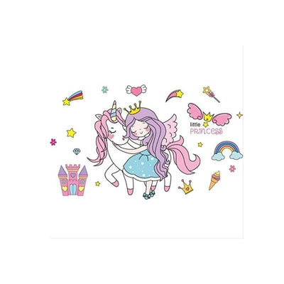 Stickers Princesse Doux Rêves