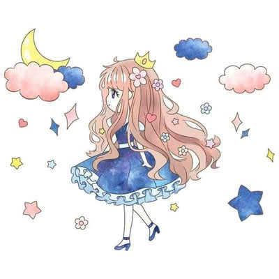 stickers-princesse-kawaii